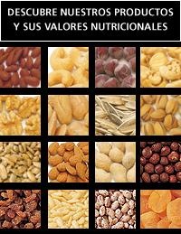 Propiedades organolepticas de los frutos secos